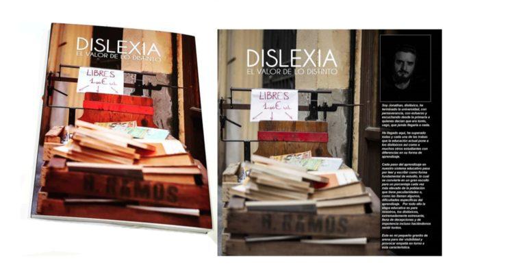Imagen del libro real y de su portada con solapa