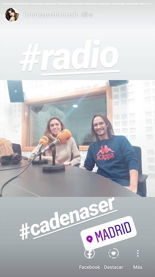 Entrevista en Cadena Ser Madrid