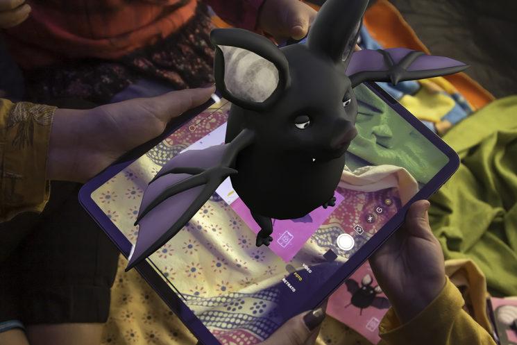 Personaje 3D del cuento