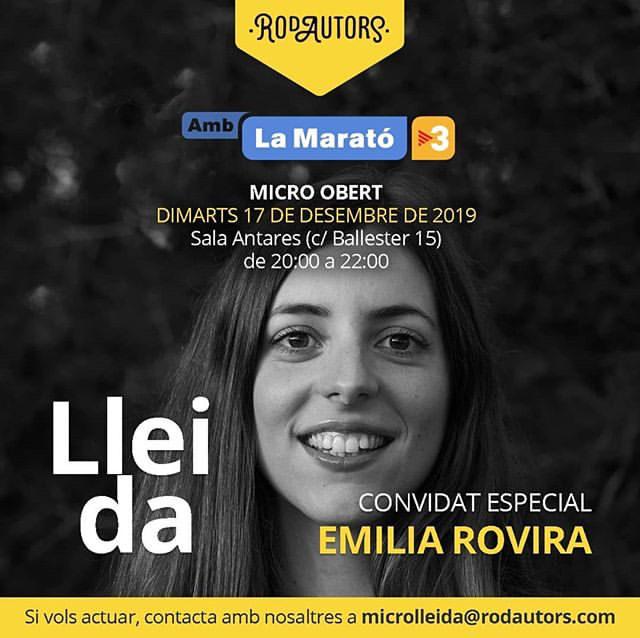 """17 de desembre: concert en benefici de """"La Marató de TV3"""""""