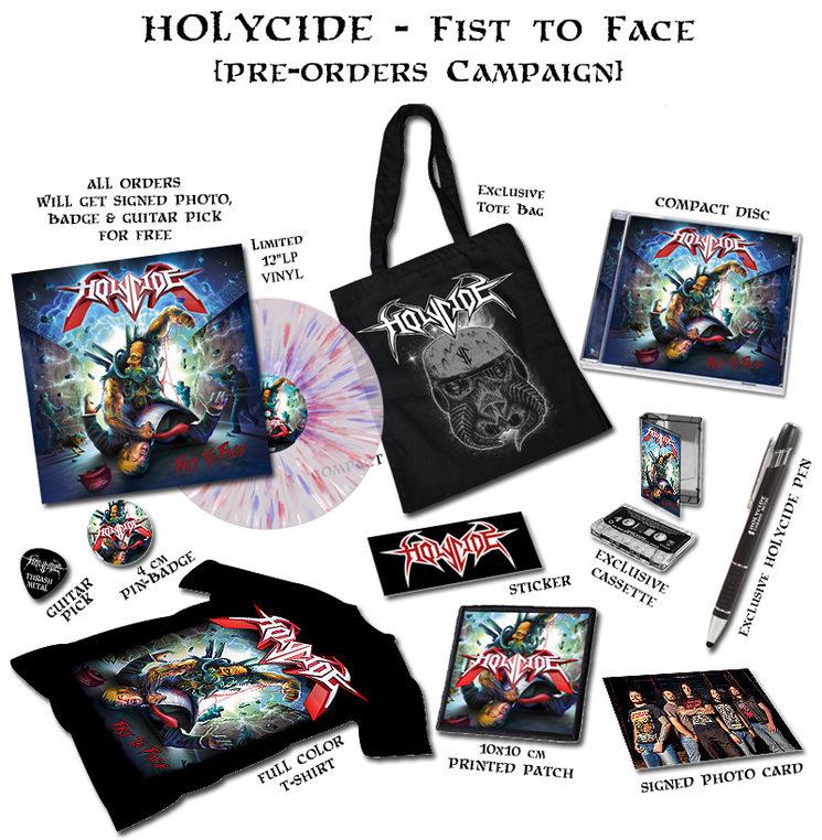 HOLYCIDE - pre-order campaign