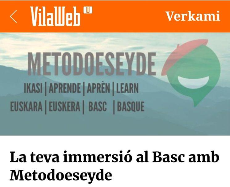 Vilaweb y Metodoeseyde
