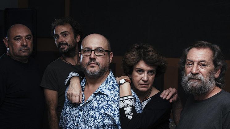 Luis, Jaime, Ángel, Matilde y Lorenzo