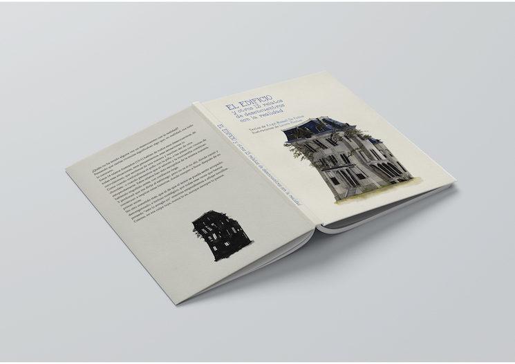 """""""El edificio"""" Front + Back cover"""