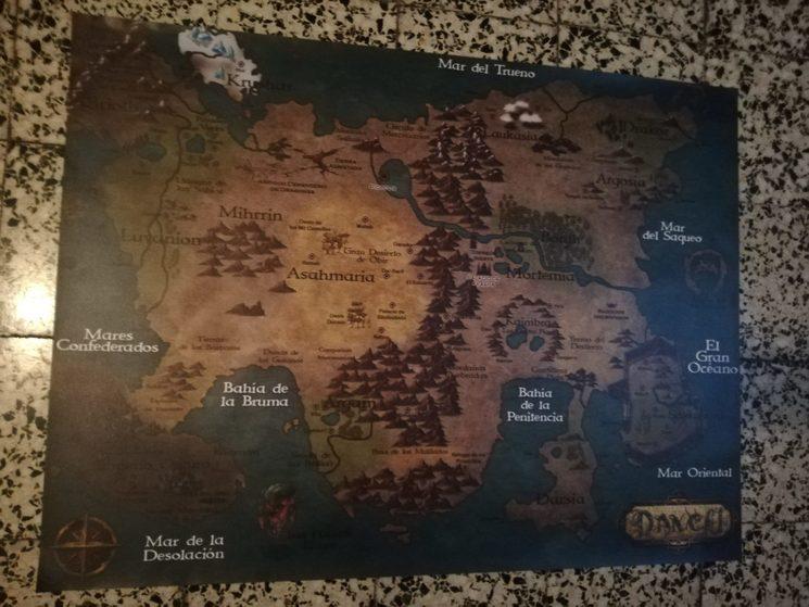 Mapa de lona 100x75