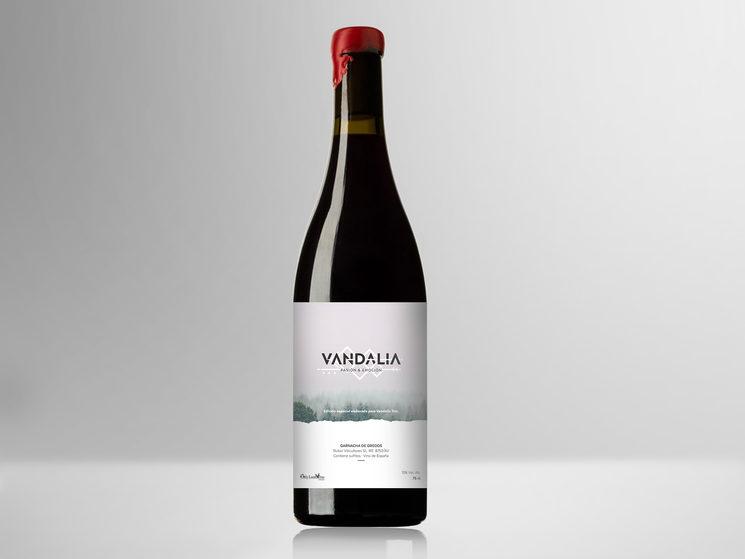 Nueva recompensa edición limitada: Disco + vino Vandalia