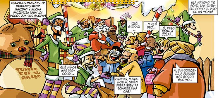 Feliz Navidad y prospera espera