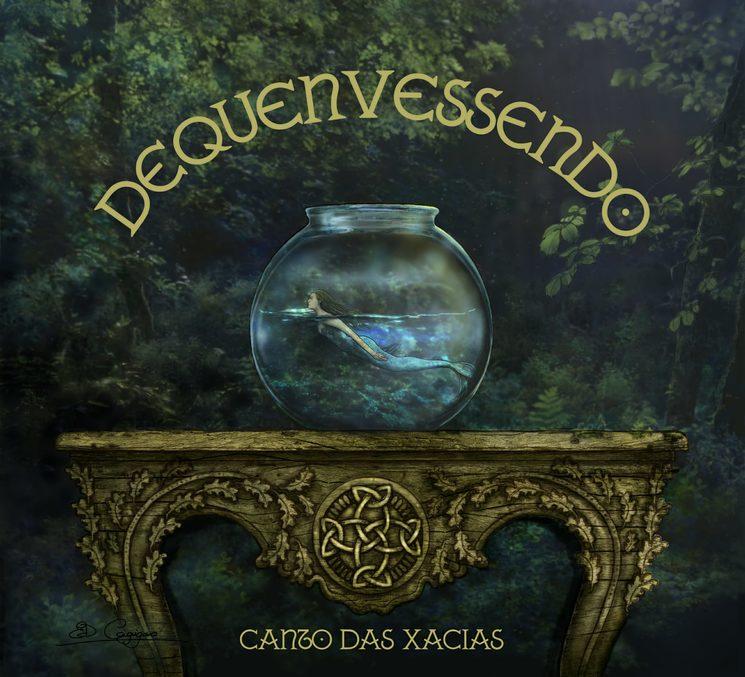 Prototipo portada do disco feita por Estefanía Domínguez