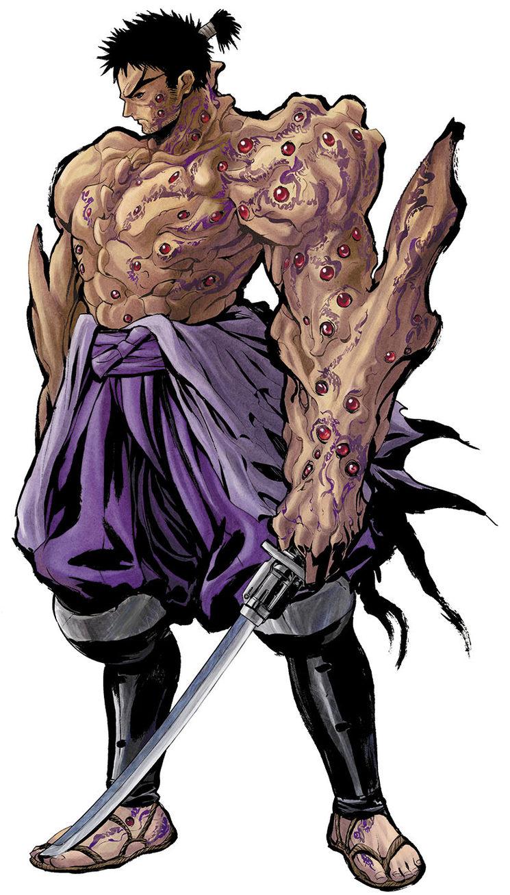Hoja de personaje de Tenra Bansho Zero para Roll20