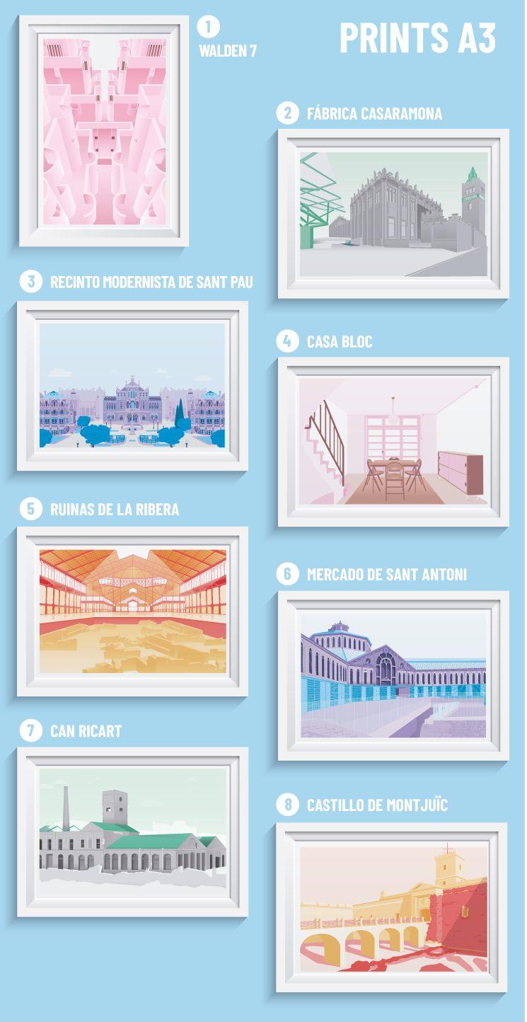 Ilustrando Barcelona