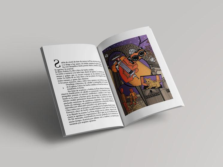 Aspecto del interior del libro