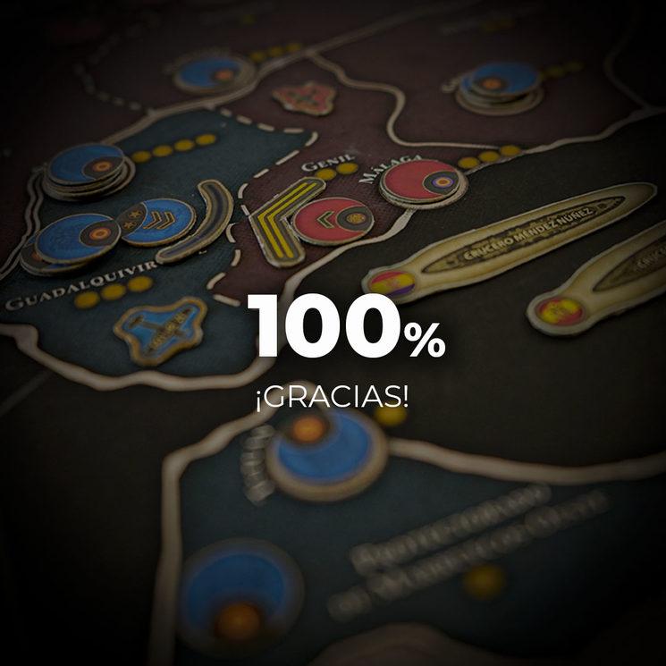 ¡100% conseguido!
