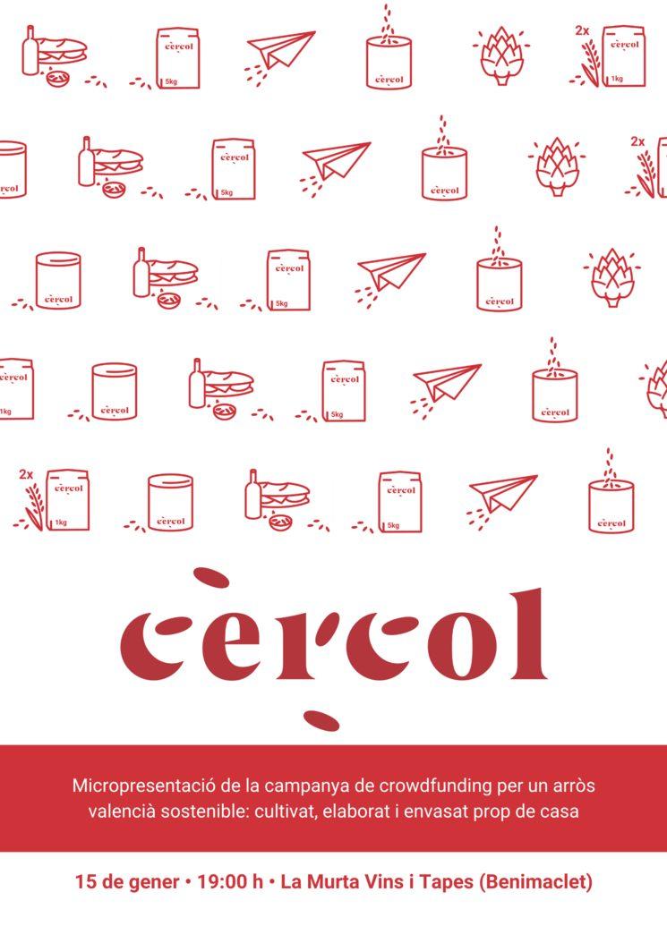 15 de gener: Micropresentació de Cèrcol a La Murta (Benimaclet)