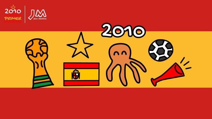📖 El libro que cuenta la historia del Mundial 2010