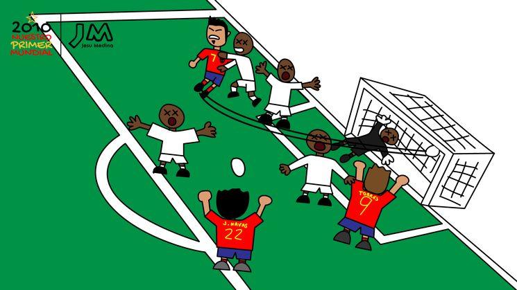 ⚽ Los goles de Villa