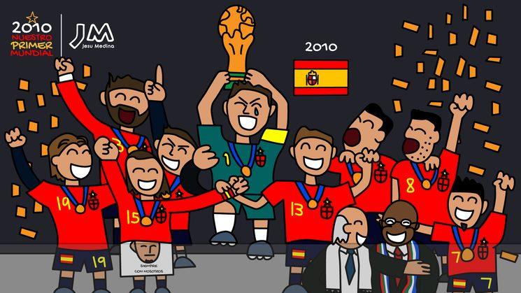 🏆 Iker levantando la Copa del Mundo