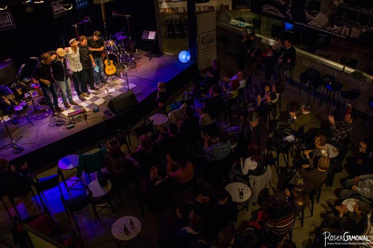 Presentació a la Nova Jazz Cava Novembrtre