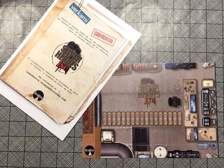 Mini-mat diseñado por Fali.