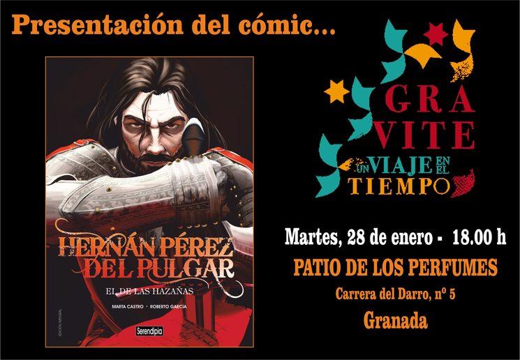 Hernán será presentado en Granada en la casa de su bisnieto.