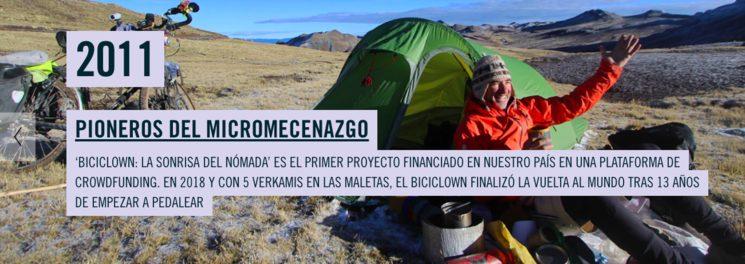 Pionero del micromecenazgo en España