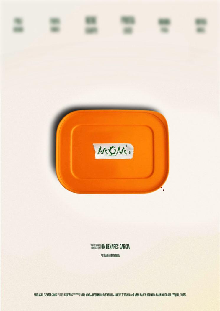Cartel del cortometraje LA COMIDA DE MAMÁ (MOM