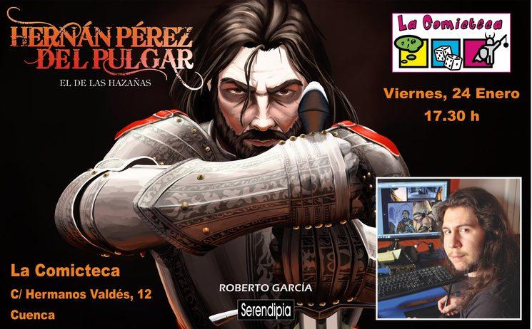 Encuentro con Roberto en La Comicteca de Cuenca