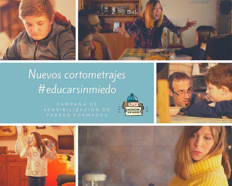 Nuevos cortometrajes educar sin miedo
