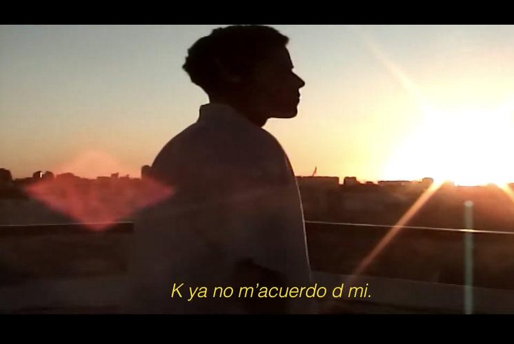 "Fotograma del teaser ""KIEREME MUXO"""