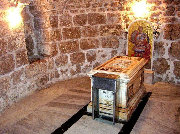 Tumba de San Jorge en Lod (fuente: wikipedia)