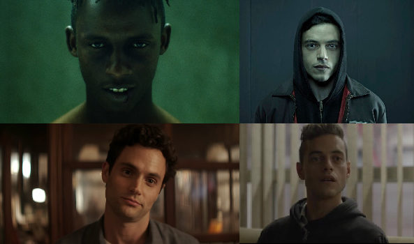 Referents: Mr. Robot (2015), You (2018)