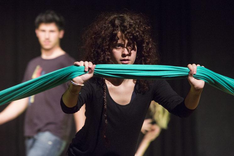 Teatro Foro Frontera del Proyecto internacional MigraTOrs en el DMTOfest 2019
