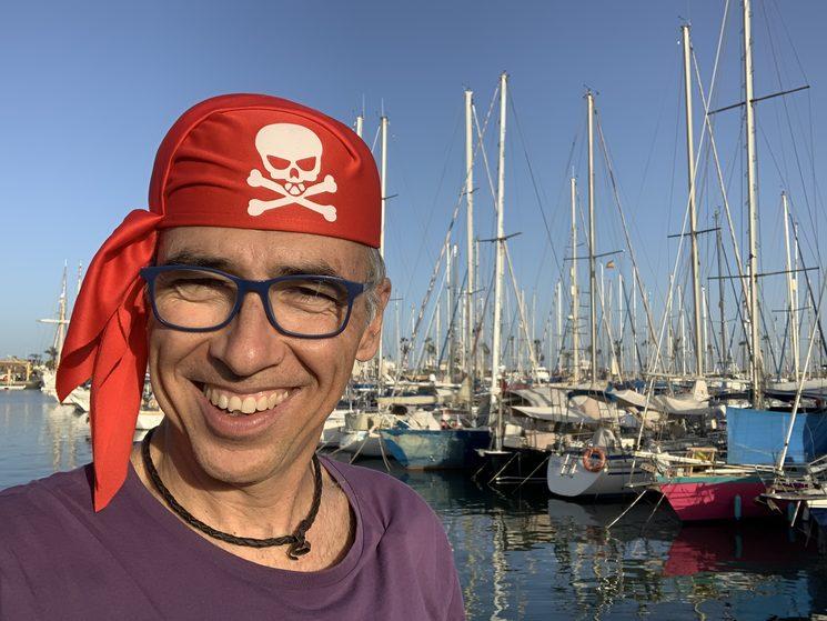 Daniel Martín Castellano, el pirata-escritor.