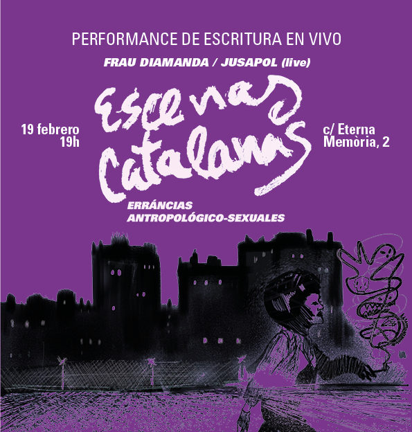 """Presentación (+ performance) del proyecto """"Escenas Catalanas"""""""