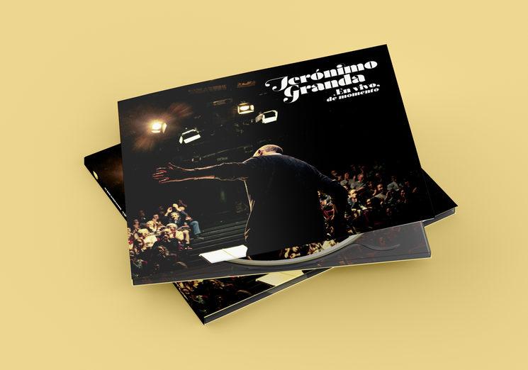 Simulación del CD final, foto de portada de José Ramón Cuesta (joseramoncuesta.com)