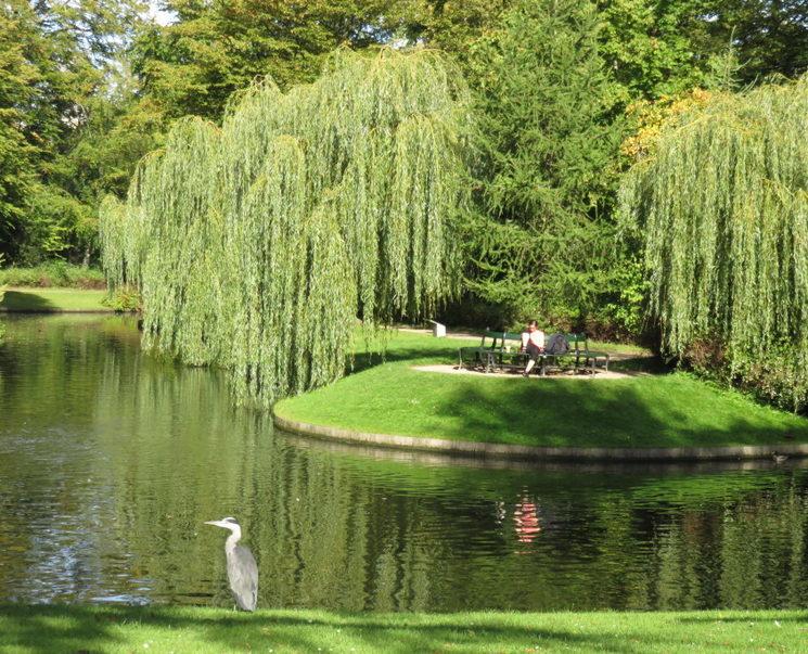 """Els jardins de """"Frederiksberg"""" a Copenhaguen, un lloc emblemàtic i enigmàtic al cor d"""