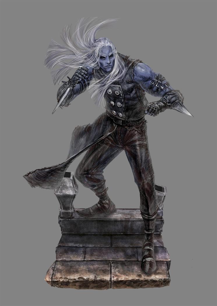 Un Kunahari listo para el combate