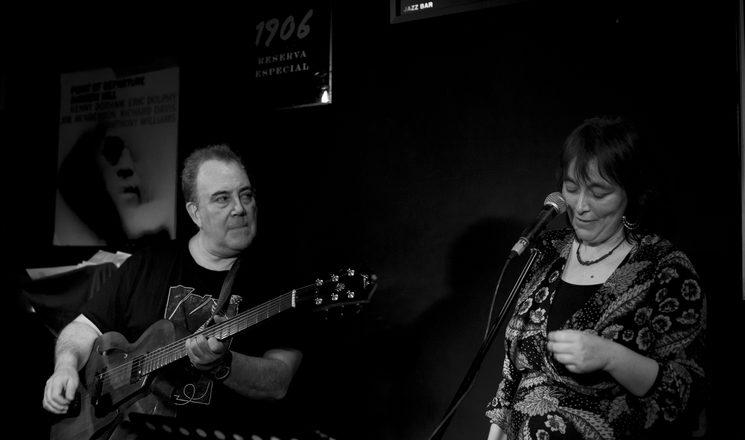 Manuel Hamerlinck - Eva Romero (foto de José Luis Calvo)