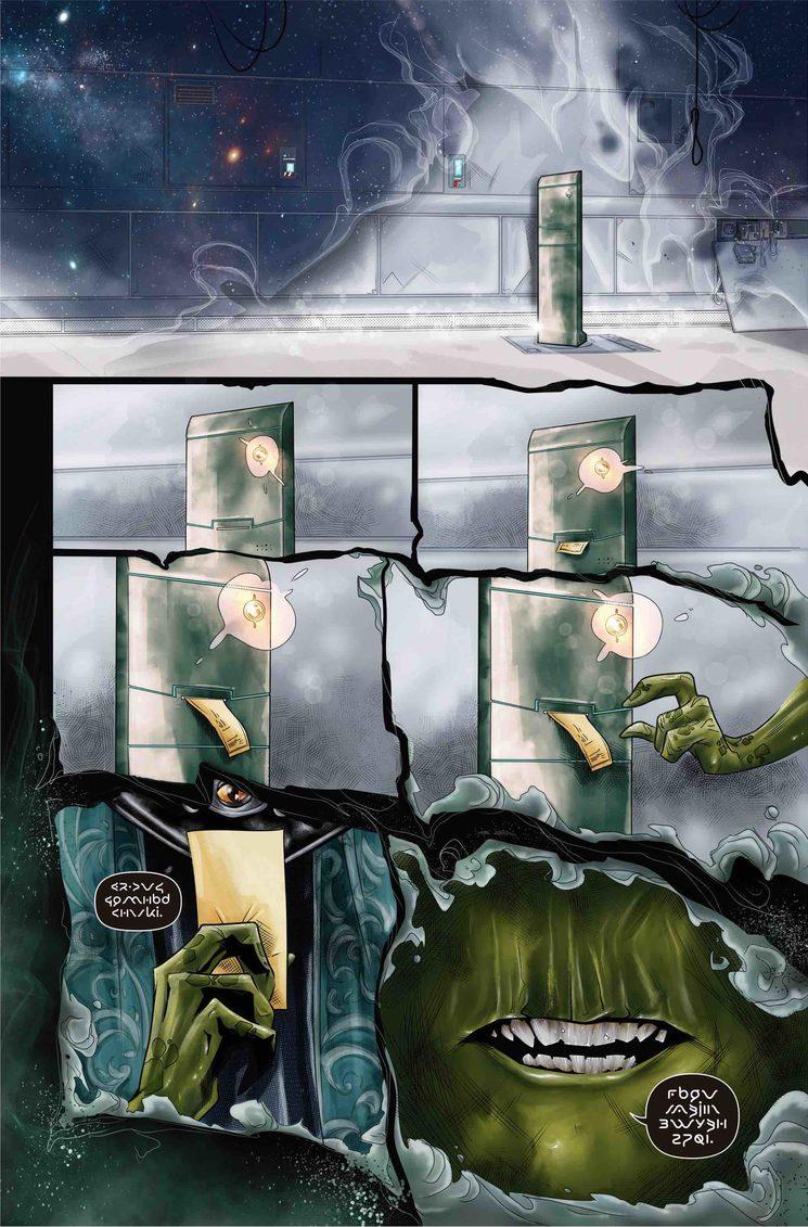 Primera página del cómic