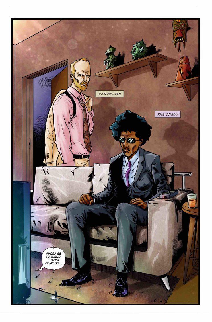 Tercera página del cómic