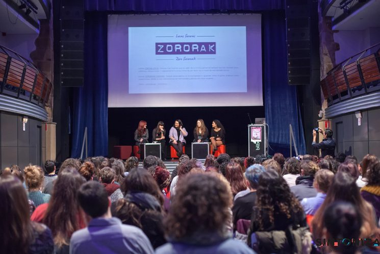 Presentación de Zororak, 3 de febrero de 2018. Bilborock