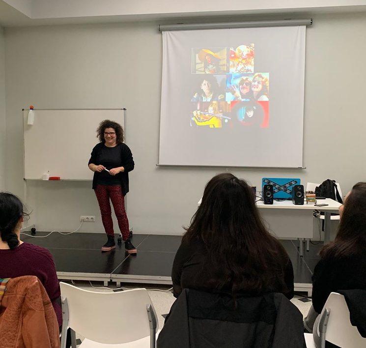 Encuentro con María Castejón. 2019