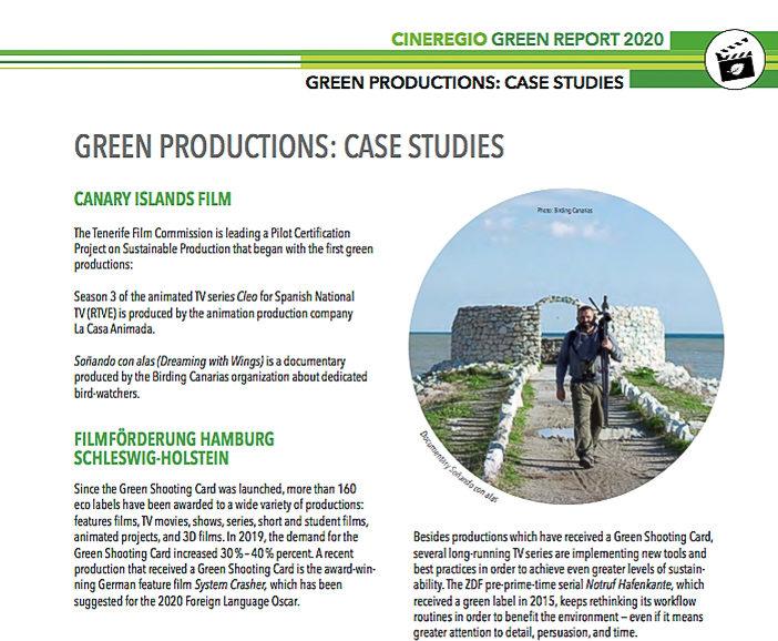 Soñando Con Alas producción sostenible