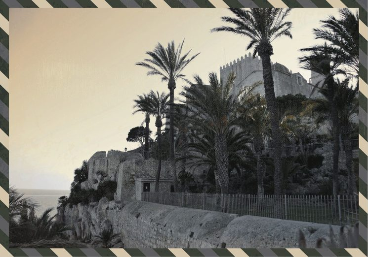 El parque de Artillería, donde Román Antequera bebía la luz del Mediterráneo