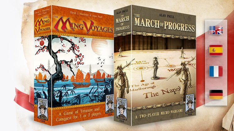 Nuevo proyecto - ¡The Ming Voyages y The March of Progress!