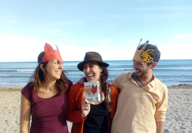 Clara, María y Jose (de izquierda a derecha)