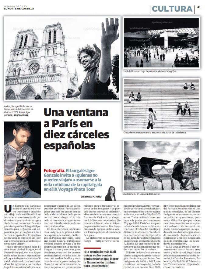 EL NORTE DE CASTILLA / 260220