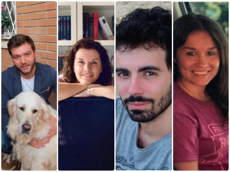 Paco Camarasa, Aure Farran, Josep Oller i Inés Rubinat