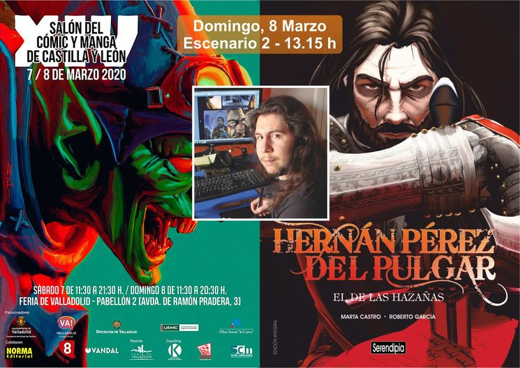 Presentación en el Salón del Cómic de Castilla y León