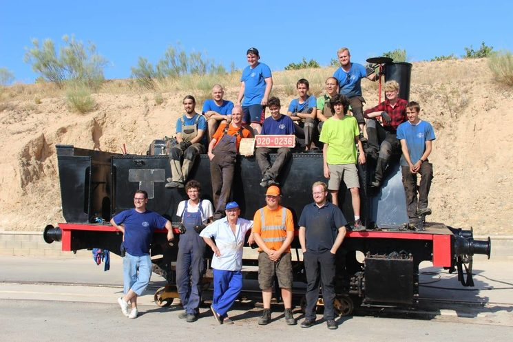 Team, Cuco Steam Team, concluding works, August 2019