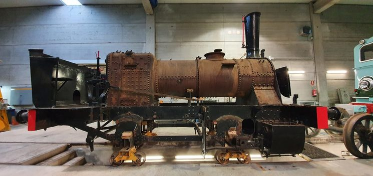 Locomotive disassembled today, January 2020